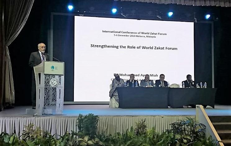CZM represented Bangladesh at International Conference on Zakat